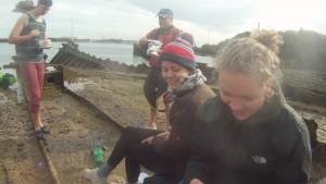 At the Shipwrecks 08